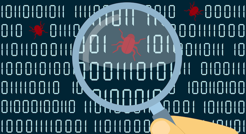 bug bounty: a bug found in a program