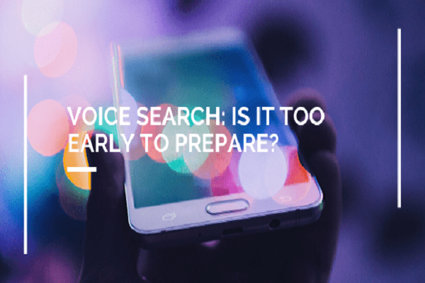 smartphone and voice search